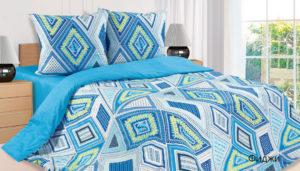 Комплект постельного белья поплин Фиджи 2-сп Макс