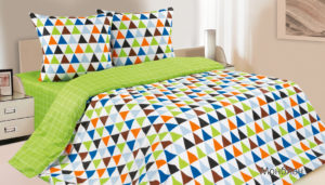 Комплект постельного белья поплин Монблан 2,0 на резинке