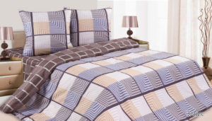 Комплект постельного белья поплин Элвис 2,0 на резинке