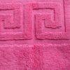 Полотенце для ног  Ножки  ярко-розовый