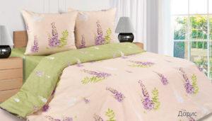 Комплект постельного белья поплин Дорис 1,5-сп