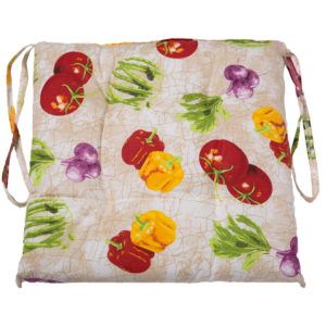 Подушка на табурет Диннер-Шалк Овощи