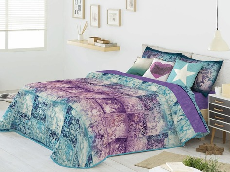 Покрывало + 2 наволочки (подушки) на кровать Antilo Muriel
