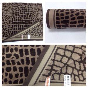 Махровое полотенце Ozdilek Ombre коричневый