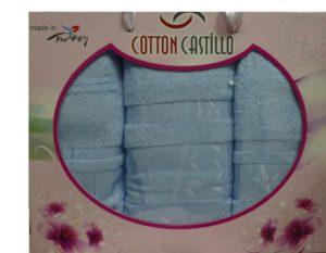 Набор полотенец Бамбук  Голубой