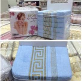 Бамбуковое полотенце Efor Голубой 50*90 см
