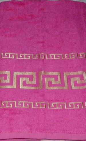 Махровое полотенце Бамбук Фуксия