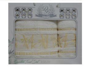 Набор полотенец Diabella Бамбук  Крем 2 шт