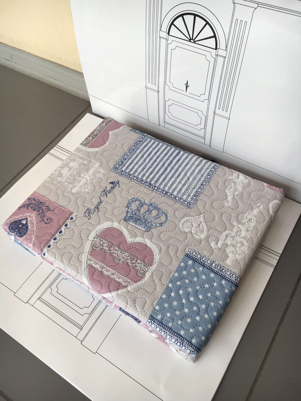 Одеяло-покрывало Servalli Match арт.14