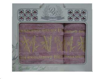 Набор полотенец Бамбук  Сирень 2 шт