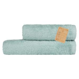 Махровое полотенце Бамбук Diplomat Аквамарин