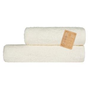 Махровое полотенце Бамбук Diplomat Кремовый