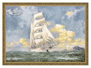 Картина Гобелен Люкс По волнам