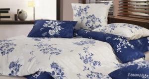 Комплект постельного белья сатин Ecotex  Лаванда