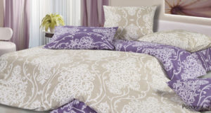 Комплект постельного белья сатин Ecotex  Россини