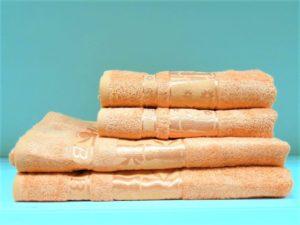 Бамбуковое полотенце CESTEPE абрикос