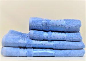 Бамбуковое полотенце CESTEPE голубой
