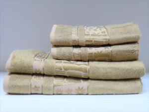 Бамбуковое полотенце CESTEPE коричневый