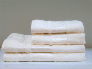 Бамбуковое полотенце CESTEPE крем