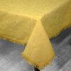 Скатерть  гобелен Примавера овал желтый