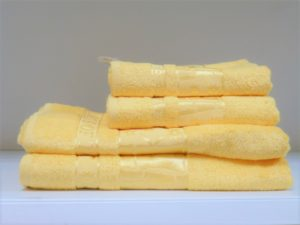 Бамбуковое полотенце CESTEPE желтый