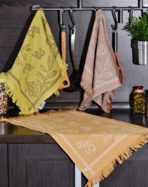 Набор полотенец для кухни Специи 3 шт