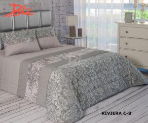 Покрывало на кровать Dolz (Испания) Riviera C8 Gris 250*270