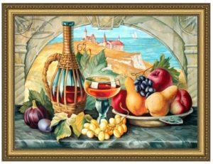 Картина Гобелен Люкс Дофине (виноград)