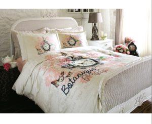 Комплект постельного белья Ozdilek Art Digital Love Time евро