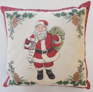 Наволочка декоративная Санта Клаус