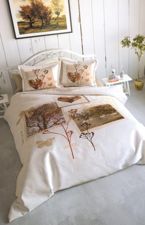 Комплект постельного белья Ozdilek Art Collection Love Winter евро