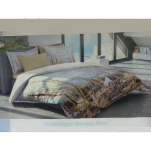 Комплект постельного белья Ozdilek Art Collection Village евро