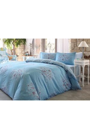 Комплект постельного белья Soft Life Satin Ozdilek Nancy Евро