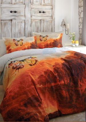 Комплект постельного белья Ozdilek Butterfly евро