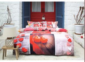 Комплект постельного белья Ozdilek Art Collection For Lovers евро