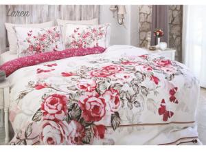 Комплект постельного белья Ozdilek Soft Life Laren евро сатин