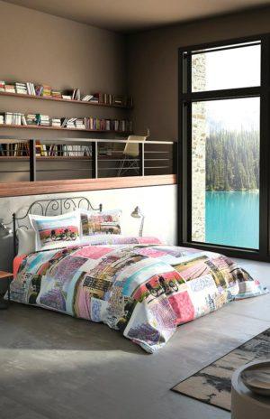 Комплект постельного белья Ozdilek Art Collection Color City евро