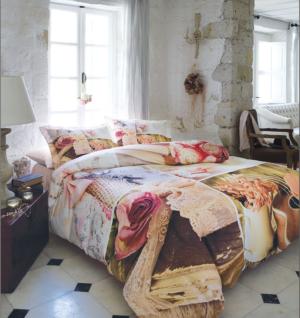 Комплект постельного белья Ozdilek Art Collection Pink Dreams евро