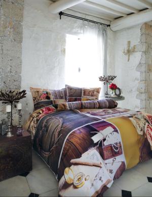 Комплект постельного белья Ozdilek Art Collection Secret Love евро