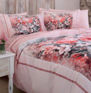 Комплект постельного белья Ozdilek Soft Life Semilla евро сатин