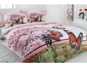 Комплект постельного белья Ozdilek Pink Spring евро