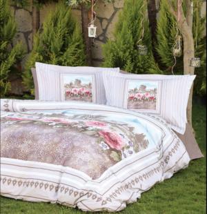 Комплект постельного белья Ozdilek Soft Life Vetrina евро сатин