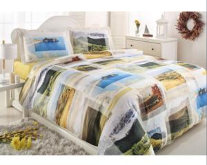 Комплект постельного белья Ozdilek Art Collection Vista евро