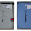 Мужская пижама Denny`S 2165 Azzurro/Melange 58 размер