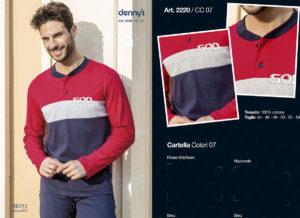 Мужская пижама Denny`S 2220 Nazionale 56 размер