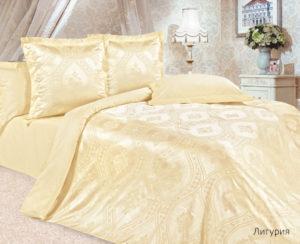 Комплект постельного белья сатин-жакккард Лигурия