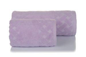 Махровое полотенце Мотив лаванда