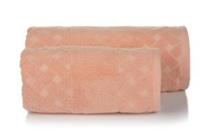 Махровое полотенце Мотив персик