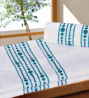 Махровое полотенце Волна белый
