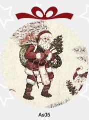 Подушка декоративная Азия-В-НГ Дед Мороз (Италия)